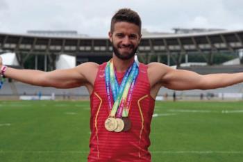 Conocemos al atleta madrileño, ganador de 5 medallas en los Gay Games 2018