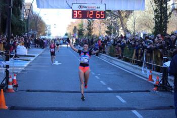 Mohamed Blal y Lucía Morales, los más rápidos en los 10.000 metros getafenses
