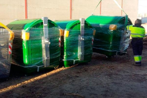 Moraleja estrena nuevos contenedores de residuos
