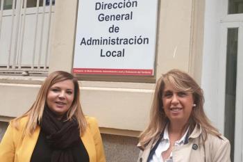 La alcaldesa debate sobre las obras de asfaltado en una reunión con Nadia Álvarez Padilla