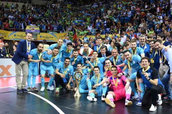 El equipo de Torrejón gana su quinta UEFA Futsal Cup