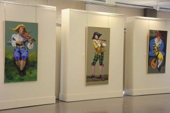 El villaodonense comparte sus obras más recientes, en el Coliseo de la Cultura, hasta el 14 de marzo