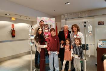 La campaña pretende dar soporte emocional y reforzar psicológicamente a los niños que sufren fallo intestinal y trasplante multivisceral