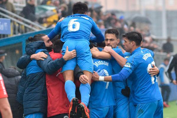 Tras la victoria ante el Cádiz, el conjunto azulón es cuarto clasificado, metido de lleno en la lucha por los playoffs