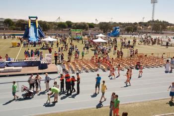 Las escuelas deportivas municipales clausuran la temporada entre celebración y trofeos
