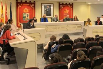 Este Pleno Infantil se ha celebrado con motivo del Día de la Constitución