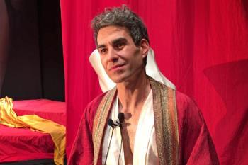 Hablamos con Dani Muriel sobre el complejo personaje con el que se cita en el Teatro Bellas Artes del 27 al 31 de marzo
