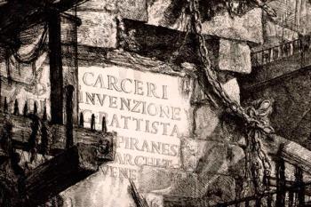 """En la exposición se muestran los grabados originales de su serie más famosa, """"Las Carceri"""""""