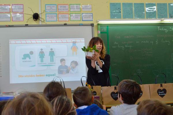 Nuestras aulas acogen un taller sobre hábitos de vida saludable