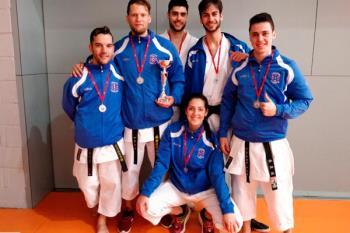 Los nuestros se hicieron con el segundo puesto en el Campeonato de Clubes de la Comunidad de Madrid