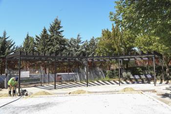 En concreto, durante este verano, se están renovando el de Boadilla Centro y el Jorge Manrique