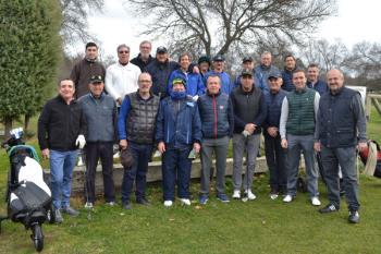 El pasado 15 de diciembre se llevó a cabo un torneo en el Golf Villa de El Escorial
