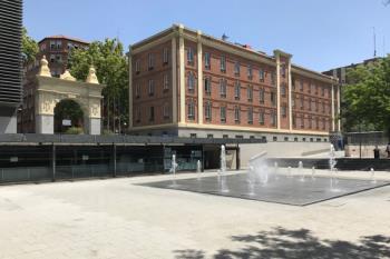 La construcción de las nuevas dependencias en el parque de Cocheras supone la inversión más importante del distrito