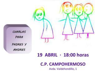 La charla tendrá lugar mañana, 19 de abril, en el colegio Campohermoso