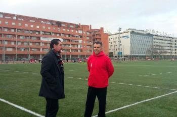 El concejal de Deportes está visitando los complejos deportivos de la ciudad para atender sus necesidades