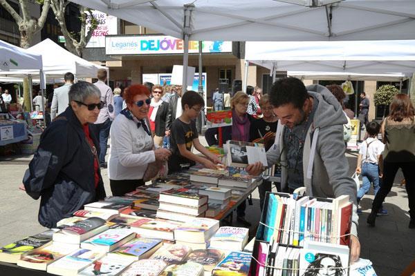 Nuevo programa de actividades en las bibliotecas de Leganés para celebrar el Día del Libro