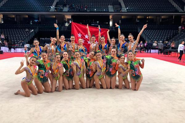 La gimnasia de San Fernando conquista el Campeonato de España