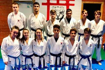 Los karatecas fuenlabreños han destacado en varios campeonatos