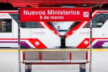 La estación de Cercanías de Nuevos Ministerios conmemora el Día Internacional de la Mujer Trabajadora