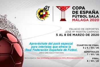 La Federación lanza un pack especial para seguir el campeonato del 5 al 8 de marzo