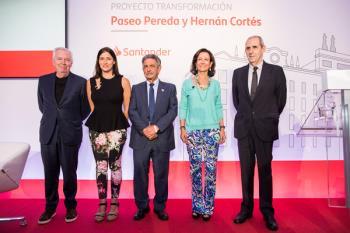 El Proyecto Pereda del Banco Santander prevé trasladar un gran número de obras a la sede de Santander