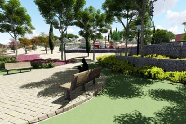 Obras de mejora en el Parque de la Granja del Conde