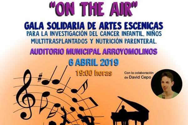 On the Air: un espectáculo de arte y solidaridad en Arroyomolinos
