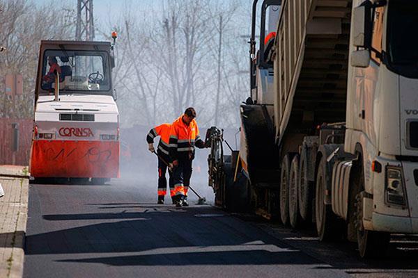 Operación asfalto: 104 calles rehabilitadas por cinco millones de euros