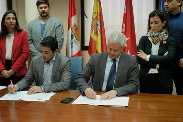 PSOE y Cs de Sanse incluyen la defensa de la Constitución en su Acuerdo Programático