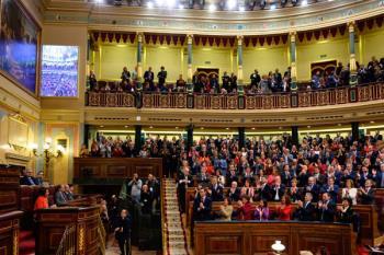 El candidato socialista ha contado con los votos de Unidas Podemos, PNV, Más País, Compromís, BNG, Teruel Existe y Nueva Canarias