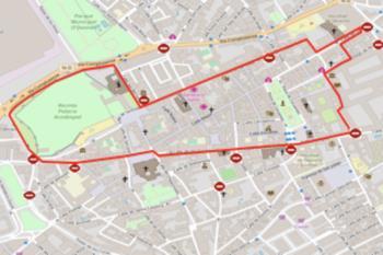 Durante esta semana se cambia el tráfico de Alcalá