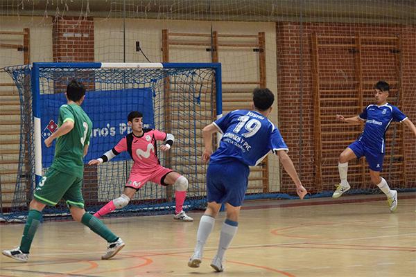 El equipo mostoleño de fútbol sala consiguió la victoria en su visita al Jumilla FS