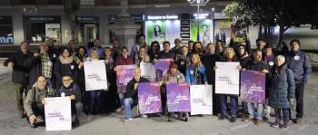El partido se ha congregado para pedir el voto para Unidas Podemos