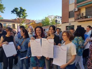 Las distintas candidaturas para la Comunidad de Madrid han suscrito el documento