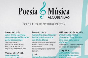 Del 17 al 24 de octubre se realizarán actividades que unen ambas manifestaciones artísticas