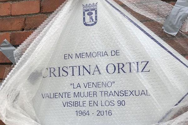 """Polémica en el homenaje del Ayuntamiento de Madrid a """"La Veneno"""""""