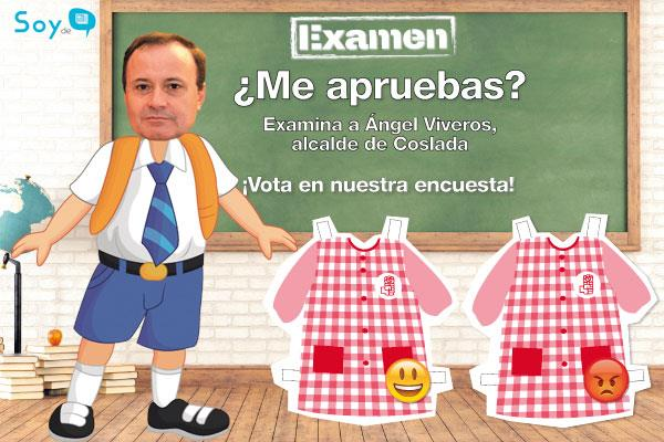 Pon nota a Ángel Viveros, alcalde de Coslada