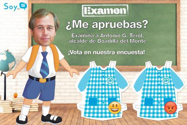 Pon nota a Antonio G. Terol, alcalde de Boadilla del Monte