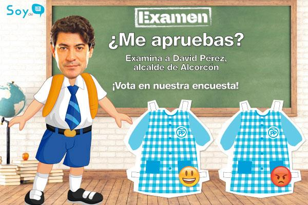 Pon nota a David Pérez, alcalde de Alcorcón