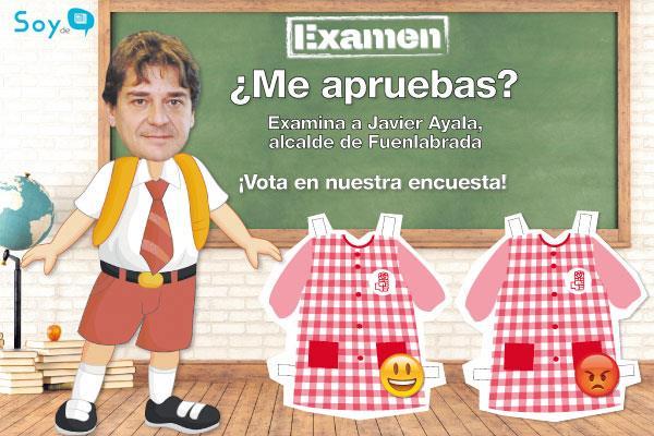 Pon nota a Javier Ayala, alcalde de Fuenlabrada