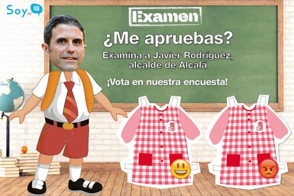 Pon nota a Javier Rodríguez, alcalde de Álcala