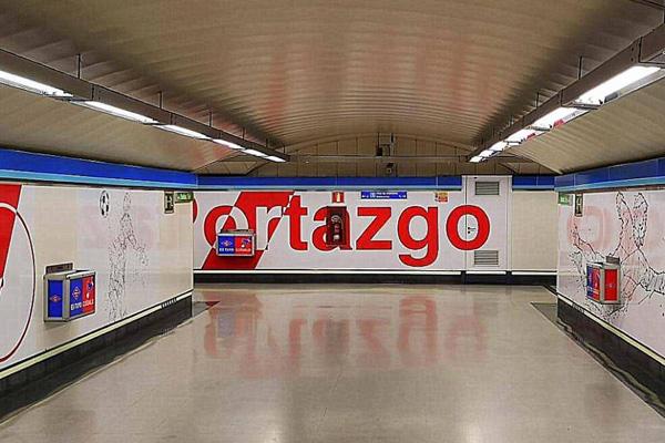 Muchos y muchas ya la llaman la `estación del Rayo Vallecano´