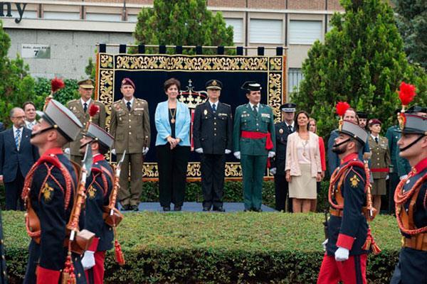 Pozuelo celebra el tradicional Homenaje a la Bandera de España