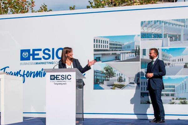 Pozuelo de Alarcón pone la primera piedra de la nueva Business School de la ESIC
