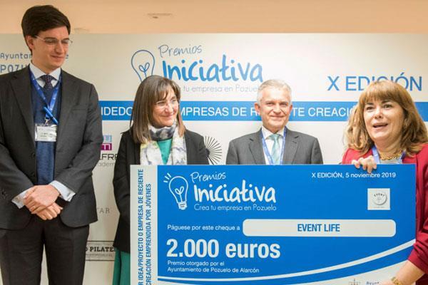 Pozuelo recompensa a los emprendedores con los 'Premios Iniciativa'