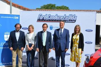 Ford España, la DGT y ayuntamiento de Alcobendas presenta unos cursos de conducción.