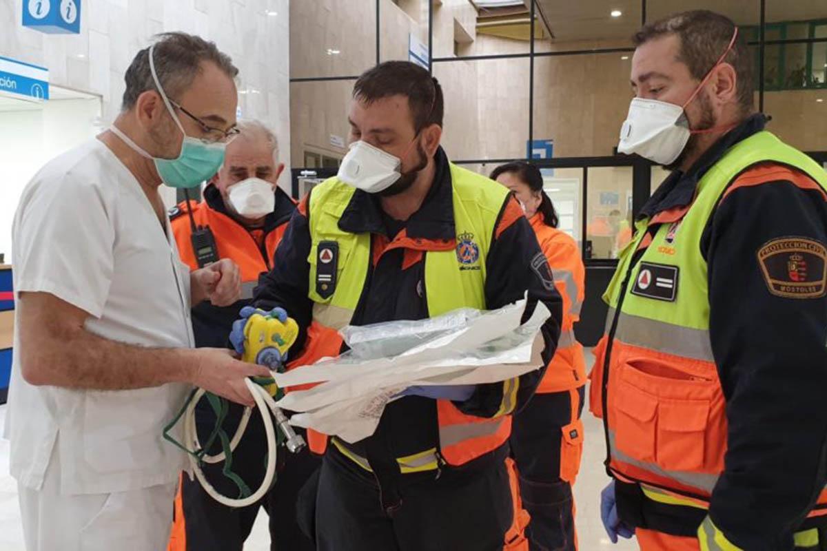 Los equipos fueron entregados por los propios voluntarios el pasado sábado