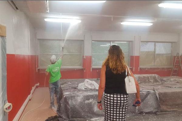 Los colegios de nuestro municipio sometidos a un lavado de cara atendiendo a las propuestas de la concejalía de Obras