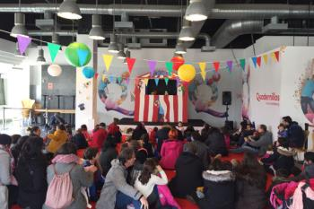 El Parque Comercial de Alcalá organiza los fines de semana un teatro gratuito con obras didácticas
