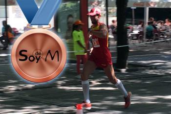 Tan solo 10 atletas (de 24) completaron la maratón de 42.195 metros